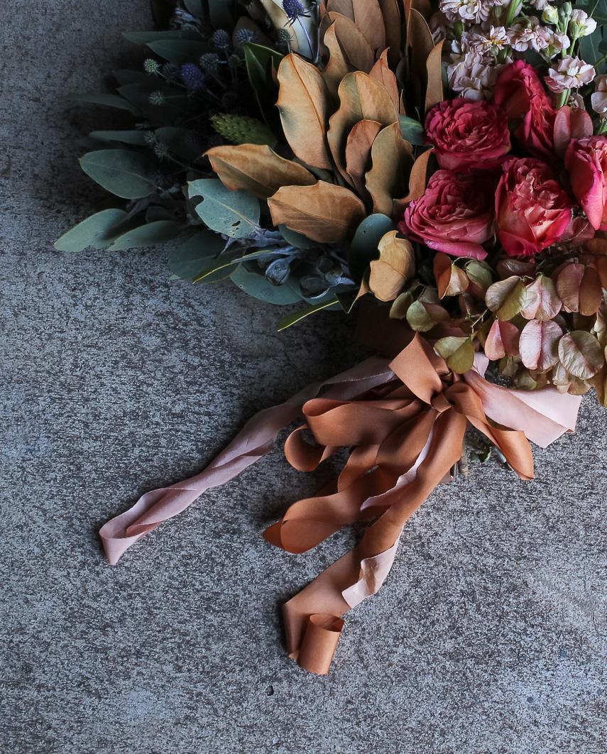 Cinnamon ribbon bouquet