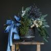 Ocean Shore ribbon floral arrangement